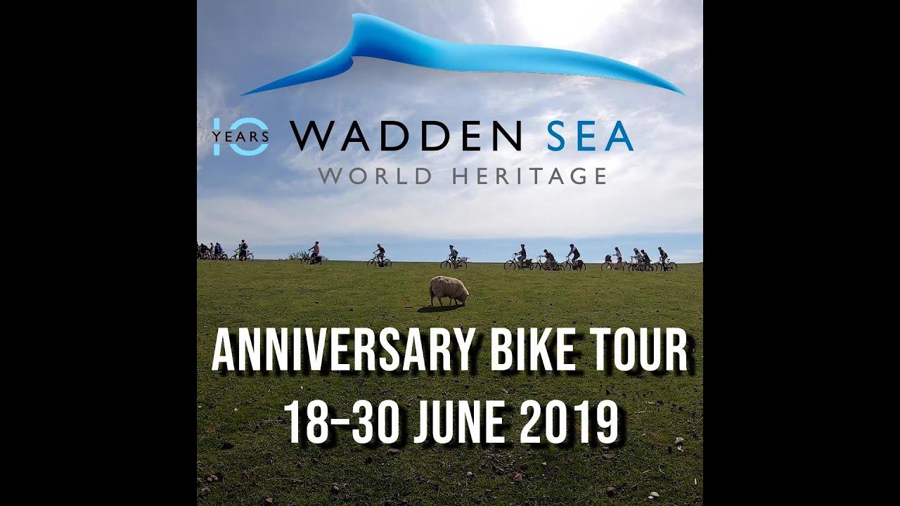 10 years Wadden Sea World Heritage - Anniversary Bike Tour 2019