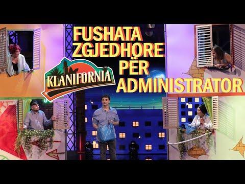 Klanifornia - Pallati Klanifornia Fushata zgjedhore për administrator (23 nentor 2019)