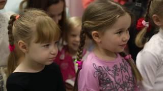 Открытие детской школы балета Lil Ballerine в г. Кургане (2017)