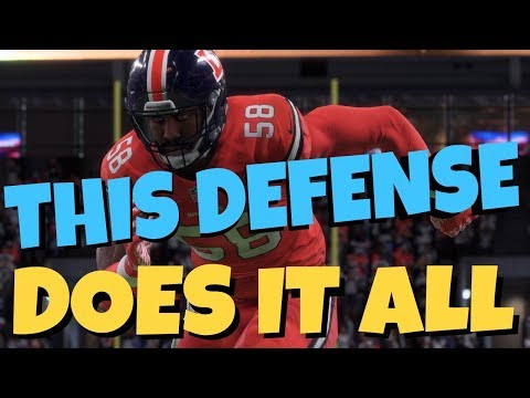 THIS DEFENSE DOES IT ALL! BEST BLITZ & BASE DEFENSE IN MADDEN 18! MONEY PLAY STOPS RUN & PASS TIPS