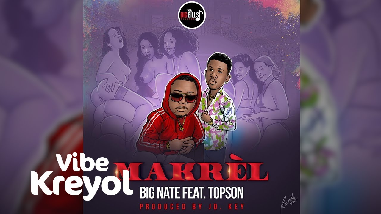 Big Nate Feat. Topson - Makrèl (prod by JD Key) [Official Audio]