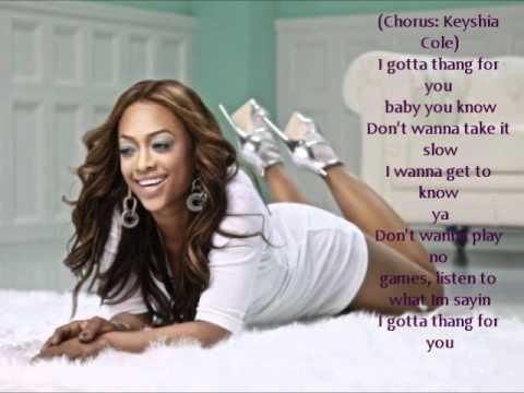 Trina I Got A Thang For You - Lyrics