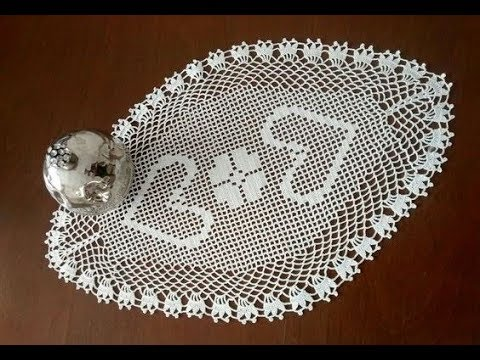 Oval Dantel Modelleri Tepsi Ortusu Tigisi Orgu Crochet