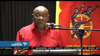 Nzimande accuses Gupta family of using the ANC to loot state funds