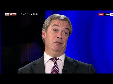 Nigel Farage: EU bureaucrats are playing cat and mouse with the UK. - 20th October 2017