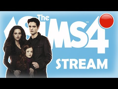 🔴 STREAM | The Sims 4 | Cоздание персонажей из саги Сумерки
