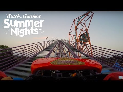 Busch Gardens Williamsburg Sunset Rides, Summer Nights, All For One & more!
