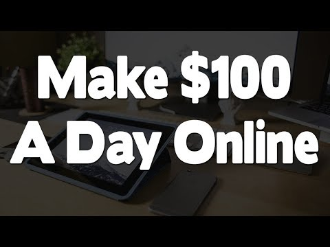 Make 100$ A Day From Paypal - Make Money Online 2018
