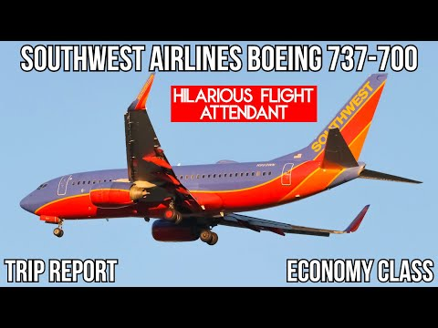 [Trip Report] (SWA COMEDY SHOW) Southwest Airlines Boeing 737-700 Chicago - Newark