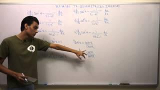 Derivadas de Funciones Trigonométricas Inversas   Teoría, Concepto y Fórmulas