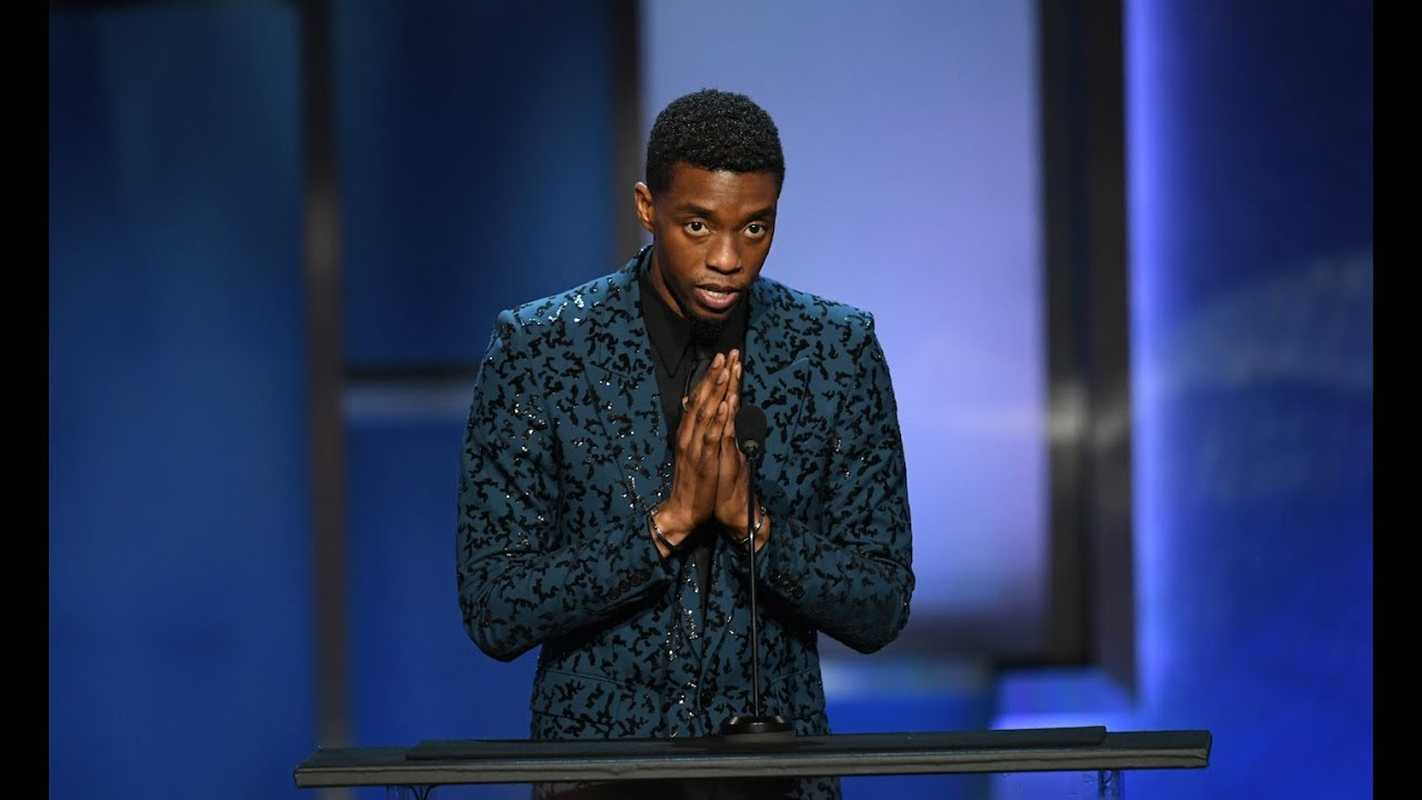"""Download Chadwick Boseman: """"There is no BLACK PANTHER without Denzel Washington"""""""