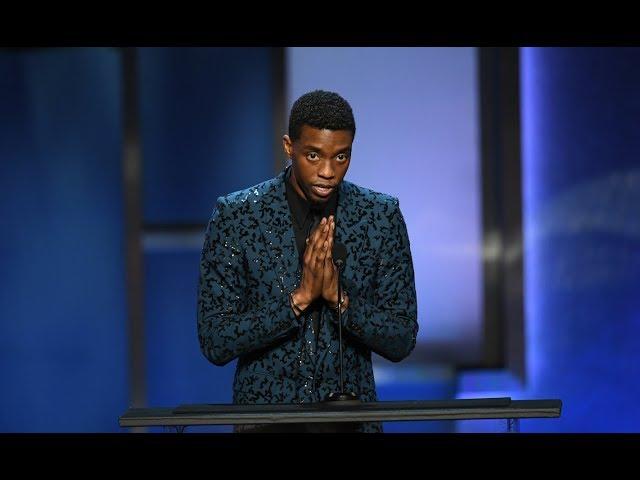 "Chadwick Boseman\: ""There is no BLACK PANTHER without Denzel Washington"""