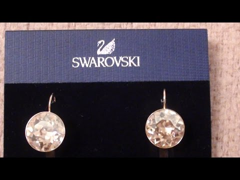 Swarovski Earrings, Bella Yellow Crystal Drops from Macy's