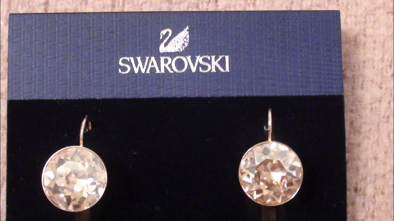 Swarovski Earrings Bella Yellow Crystal Drops From Macy S Review