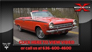 1964 Dodge Dart GT Convertible || For Sale
