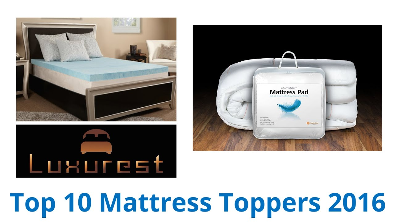 Top Rated Mattress Toppers The Sleep Innovations 4inch