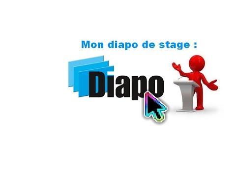 Mon Diapo De Stage