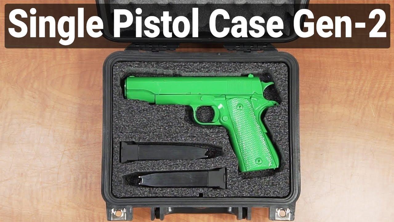 Single Pistol Case - Gen 2 - Overview - Video