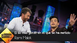 Rami Malek desvela cuál es el lío más gordo en el que se ha metido - El Hormiguero 3.0