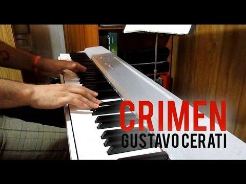 """Crímen"" - Gustavo Cerati (Javi Jiménez piano cover)"