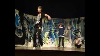 Battle de Breakdance 5 VS 5 *Bboy Sully* 1er tour  - 29 déc 2012-
