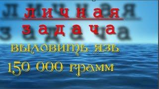 Fantastic Fishing . Особиста завдання - язь 150000 грам .