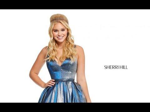 19348e62ba77 Sherri Hill 52755 Prom Dress - YouTube