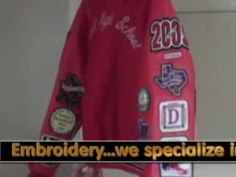 Dallas Embroidery Youtube