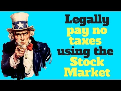 How To Legally Pay No Taxes Using The Stock Market (Canada)