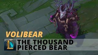 The Thousand Pierced Bear Volibear - League Of Legends
