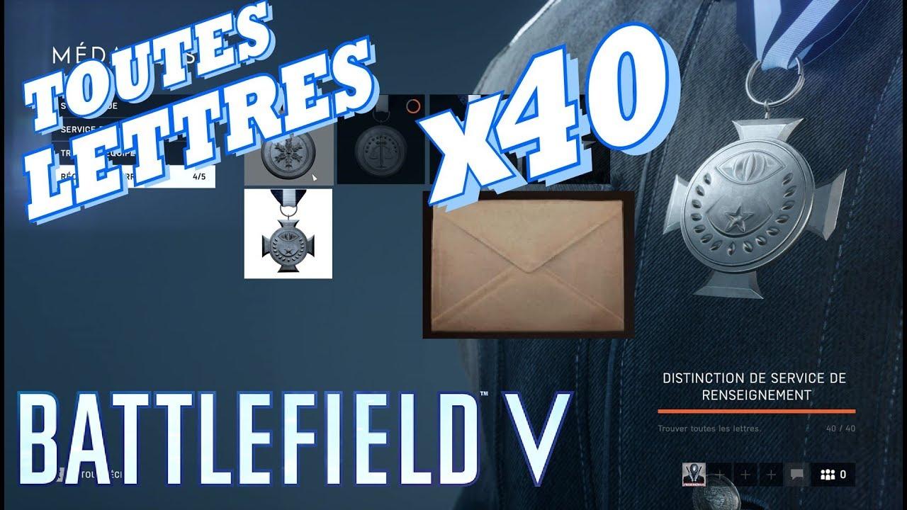 Battlefield 5 Toutes Les Lettres 40 40 Sous Aucun Drapeau Nordlys Tirailleur Youtube