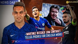 Pini Zahavi To Get Telles Signed? || Chelsea 111m Martinez Plans! || Lampard Vs Rodgers For Coutinho