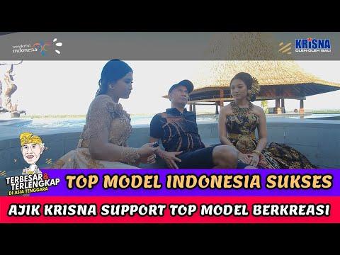Ajik Support Top Model Indonesia Berkreasi di Berlin Gastro Kitchen and Pool Bars