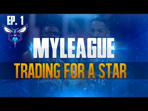 NBA 2K15 My League Mode Ep.1 - Charlotte Hornets | HUGE Trade for a Small City | PS4