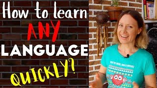how to learn ANY language QUICKLY? 5 simple tips from a polyglot