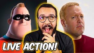Live Action de OS INCRÍVEIS - Como seria? #IMAGICAST