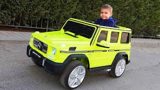 Dima haalt een nieuwe Mercedes op en repareert de tractor