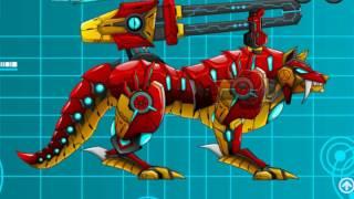 Доисторический Робот Волк Динозавры трансформеры роботы Мультик трансформеры динозавры