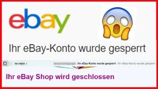 eBay Dropshipping Accounts gesperrt - Endlich ein Update!