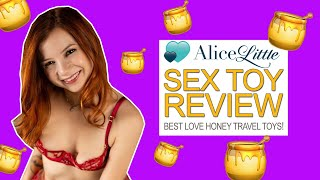 The Best Travel Toys from Love Honey - Sex Toy Review with Alice Little
