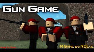 Roblox Lets Play l Gun Game Pre Alpha l Rolve Software