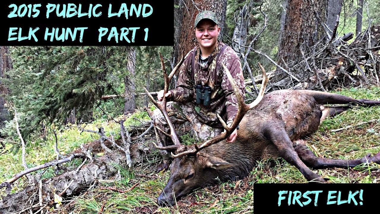 2015 Colorado Public Land OTC Elk Hunt (part 1)