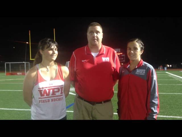 WPI Field Hockey Post-Game Interview - Hope Shevchuk and Jena Mazzucco