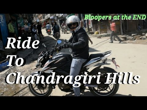 Ride to Chandragiri Hills Thankot KTM | Temple Visit | Nepal | BisBro