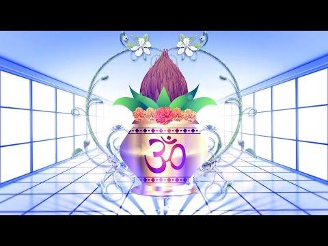 Beautiful Vivah Mangal Kalash Animated Background | DMX HD BG 119 N