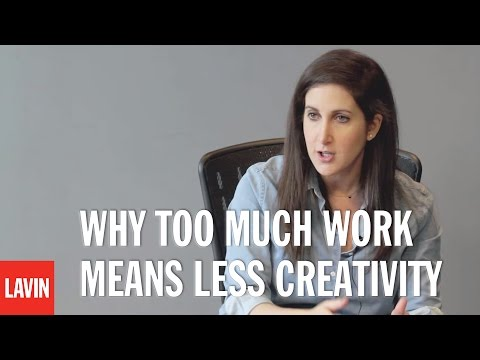 Rahaf Harfoush: Why Too Much Work Means Less Creativity