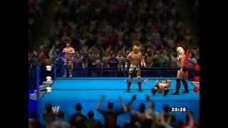XBOX360版 WWE'13 のLive対戦 プロレスゲームでプロレスごっこ 観戦編 ...