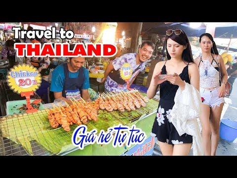 DU LỊCH THÁI LAN GIÁ RẺ TỰ TÚC   Kinh nghiệm cầm 5 triệu ăn chơi Bangkok và Pattaya