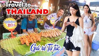 THAILAND TRAVEL CHEAP ▶ Discover BANGKOK PATTAYA with little Money