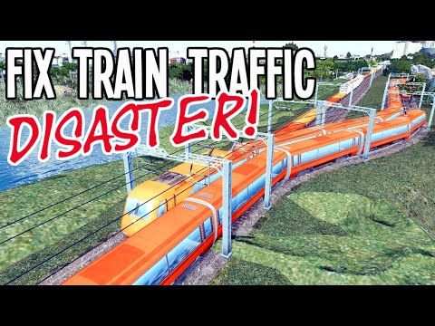 How to Troubleshoot Train Traffic & Fix it! (Cities Skylines)